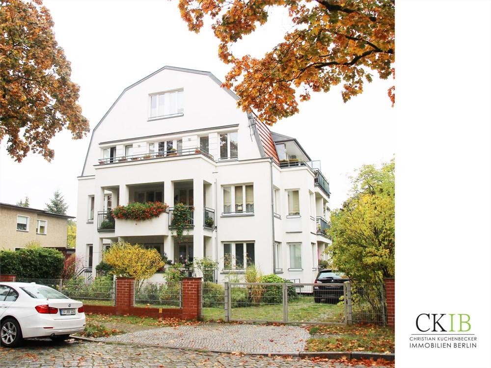 113 m maisonette wohnung in stadtvilla mit terrasse und gartenzugang im gr nen ruhigen. Black Bedroom Furniture Sets. Home Design Ideas
